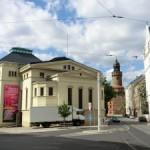 Demianiplatz - rechts zum Obermarkt