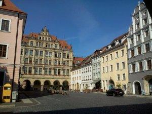 Der Untermarkt mit Neuem Rathaus
