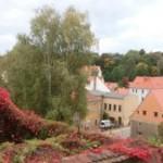 Blick vom Vogtshof zur Rothenburger Straße
